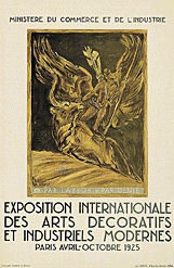 Bourdelle Antoine - Exposition des arts décoratifs ...