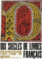 Bruggmann & Hilbert - Dix siècles de livres français
