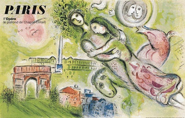 Chagall Marc - Paris -