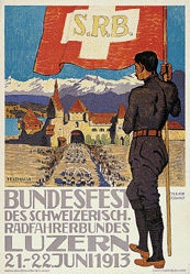 Doswald Oskar - Bundesfest des schweiz. Radfahrerbundes