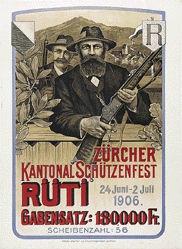 Gysin Georg - Zürcher Kantonal Schützenfest