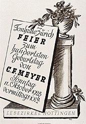 Käch Walter - Lesezirkel Hottingen
