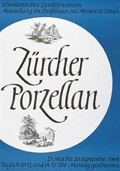 Käch Walter - Zürcher Porzellan