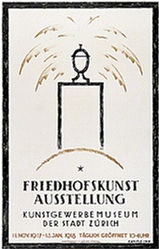 Kienzle Wilhelm - Friedhofkunst Ausstellung