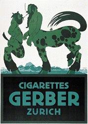Klinger Julius - Cigarettes Gerber Zürich