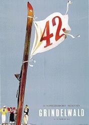 Leupin Herbert - 36. Schweizerisches Skirennen