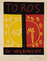 Picasso Pablo - Toros en Vallauris