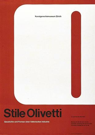 Ballmer Walter - Stile Olivetti