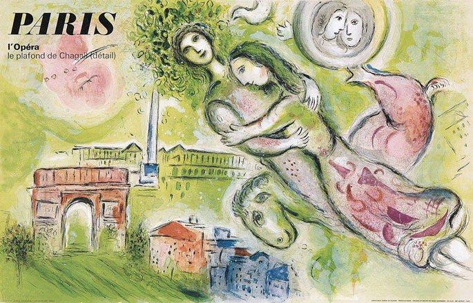 Chagall Marc - Paris -