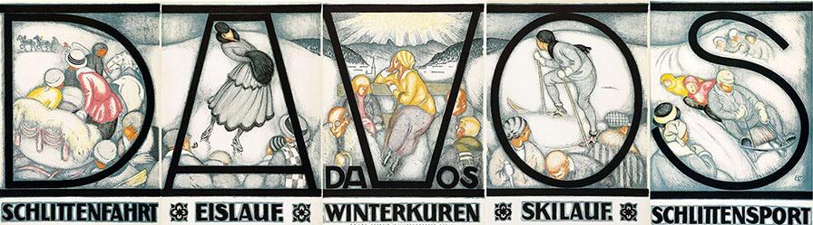 Mangold Burkhard - Davos