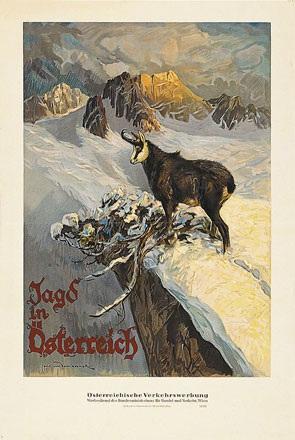 von Dombrowski Carl - Jagd in Österreich