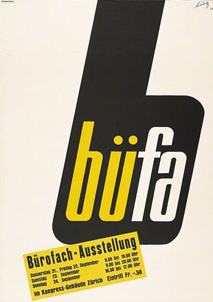 Butz Fritz - Bürofach-Ausstellung