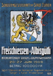 Anonym - Freischiessen Albisgütli