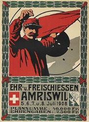 Monogramm C.A. - Freischiessen Amriswil