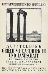 Anonym - Griechische Architektur und Landschaft