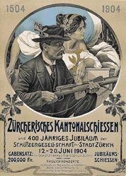 Krawutschke Paul - Zürcherisches Kantonalschiessen