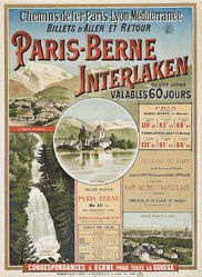 Anonym - Paris-Berne-Interlaken