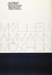Hofmann Armin - Heinrich Müller / Ammann / Walter J. Moeschlin
