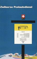 Kaltenbach Fritz - Zwitserse Postautodienst