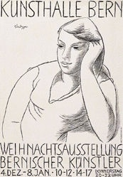 Lindegger Albert - Weihnachtaustellung Bernischer Künstler