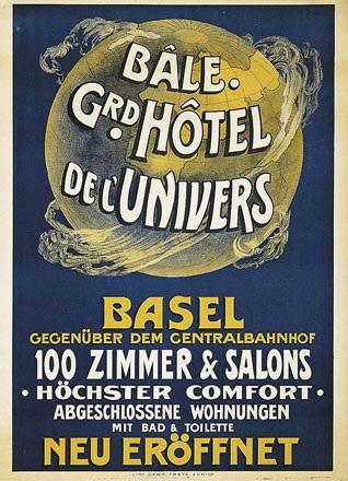 Anonym - Grd. Hôtel de l'Univers Bâle