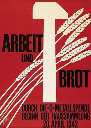 Keller Ernst - Arbeit und Brot