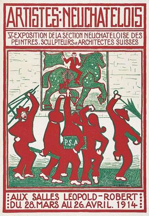 Röthlisberger Ernest - Artistes Neuchâtelois