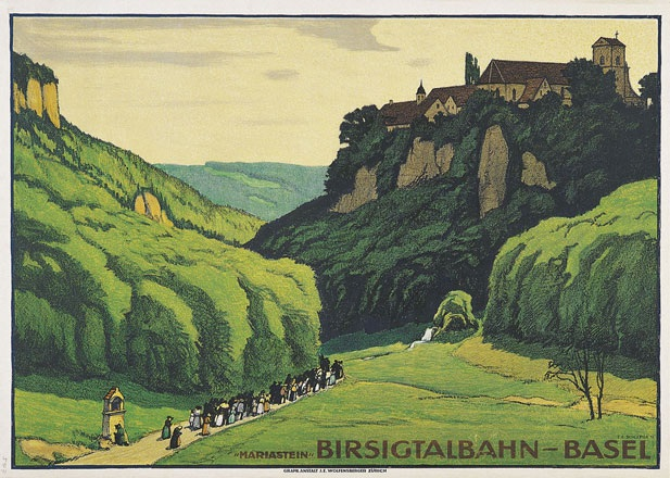 Schlatter Ernst Emil - Birsigtalbahn - Basel