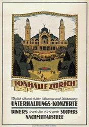Schlatter Ernst Emil - Tonhalle Zürich