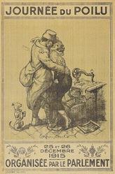 Willette Adolphe Léon - Journée du Poilu