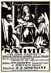 Berthoud René - Nativité