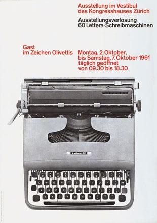 Hiestand Ernst - Gast im Zeichen Olivettis