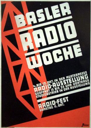 Keiser Ernst - Basler Radio Woche
