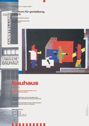 Brühlmann Jürg / Lichtenstein Claude - Bauhaus