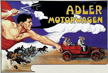 Anonym - Adler Motorwagen