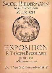 Bosshard Théopile Rodolphe - Salon Biedermann Zürich