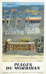 Brianchon Maurice - Plages du Morbihan