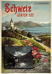 d'Alesi Hugo - Schweiz - Genfer See
