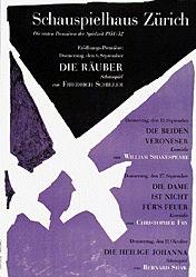 Honegger-Lavater Gottfried - Die Räuber