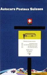 Kaltenbach Fritz - Autocars Postaux Suisses