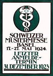 Plattner Otto - Mustermesse Basel