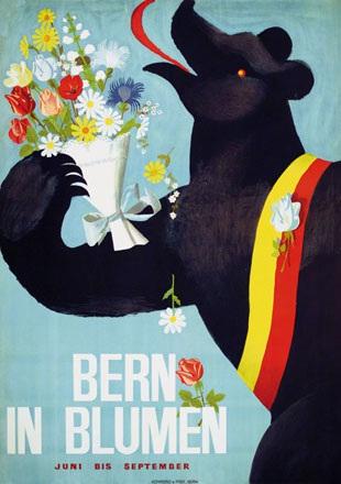 Anonym - Bern in Blumen