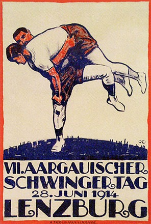 Monogramm OE - Aargauerischer Schwingertag