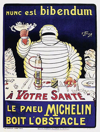 O' Galop (Rossillon Marius) - Le pneu Michelin