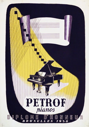 Anonym - Petrof Pianos