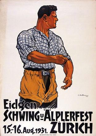 Rüttimann Carl - Fête fédéral de Lutte