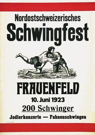 Scherer Roman - Nordostschweizerisches Schwingfest