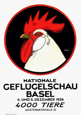 Wenger G. - Geflügelschau Basel