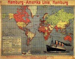 Anonym - Hamburg-Amerika Linie