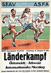 Traffelet Fritz (Friedrich) - Länderkampf